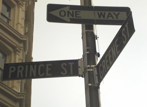 Between Prince and Greene