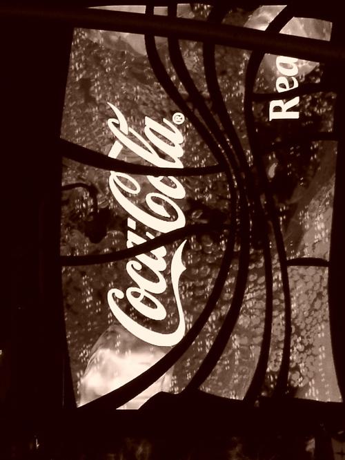 B and W: Coke